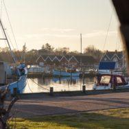 Hafenbecken von Hou