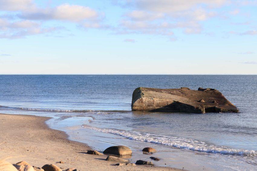 Bunker in der Ostsee bei Skagen