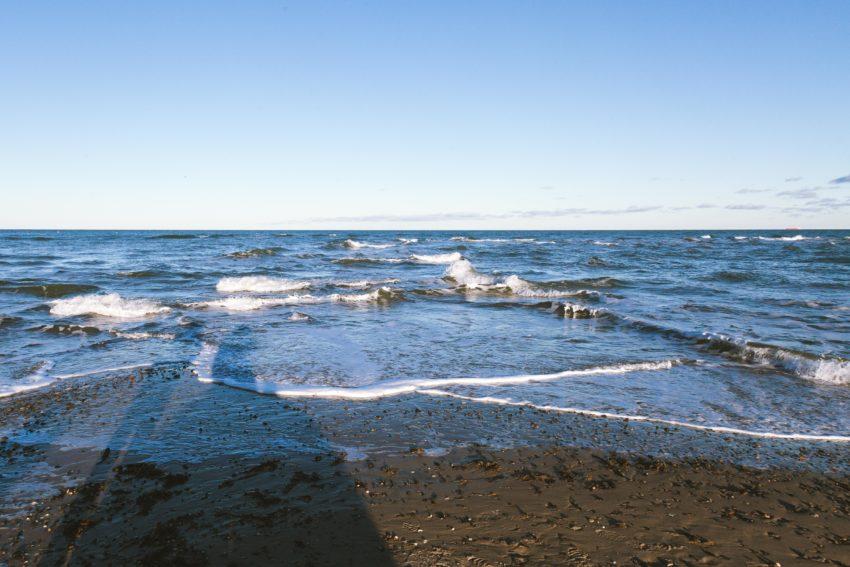 Wellentreffen bei Skagen