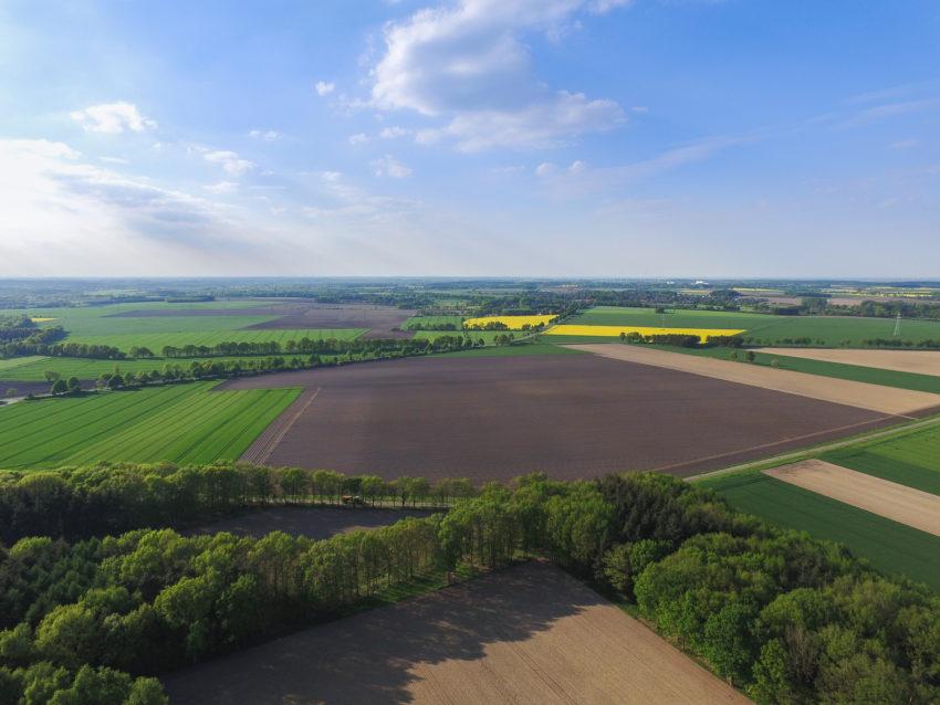 Luftbild Richtung Beckdorf