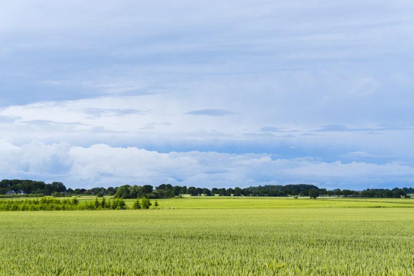 Wolkenberge Richtung Buxtehude