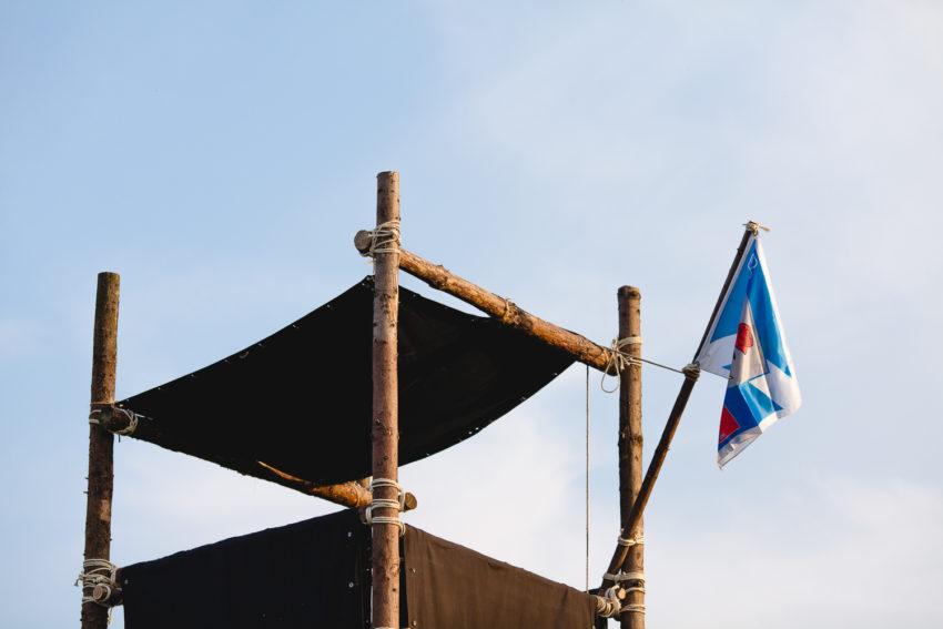 Holzturm der Pfadfinder