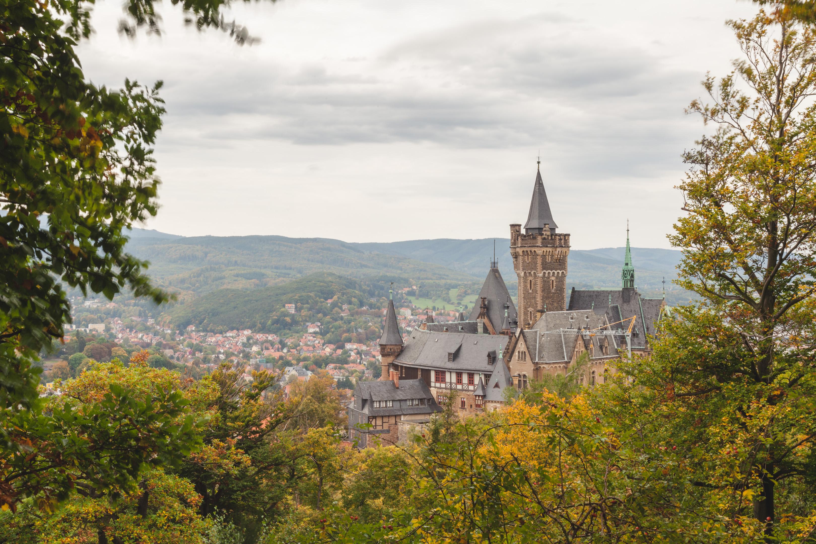 Im Herbst im Harz: Wernigerode