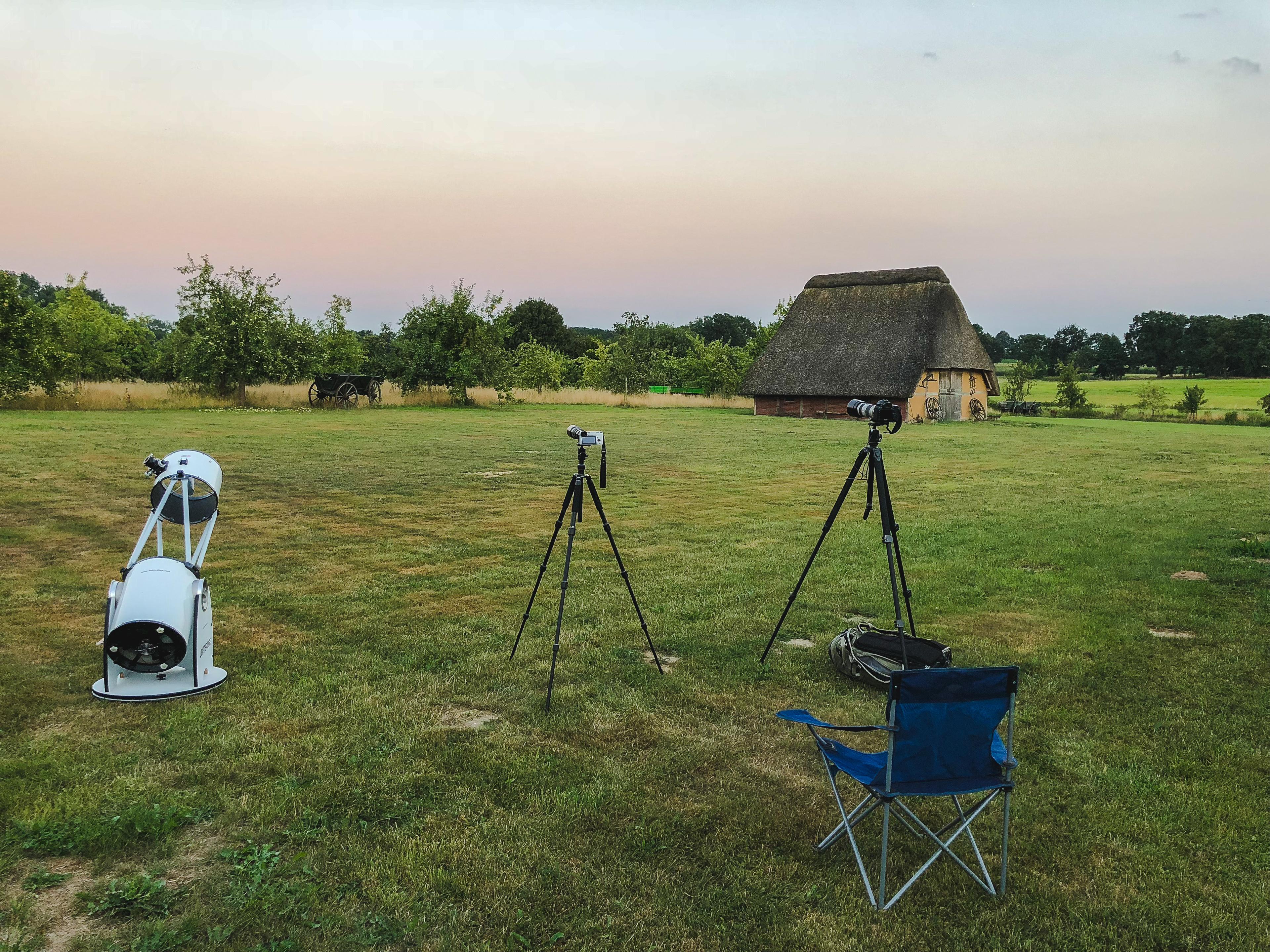 Die Mondfinsternis und die ISS am 27. Juli 2018