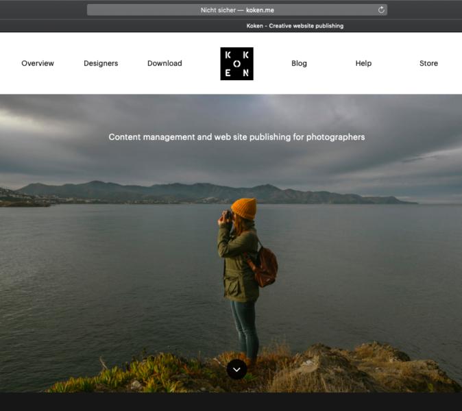 koken.me Homepage