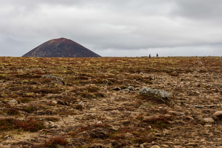 Wandern auf der Gerduberg Klippe