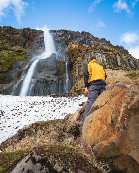 Bjarnafoss Wasserfall